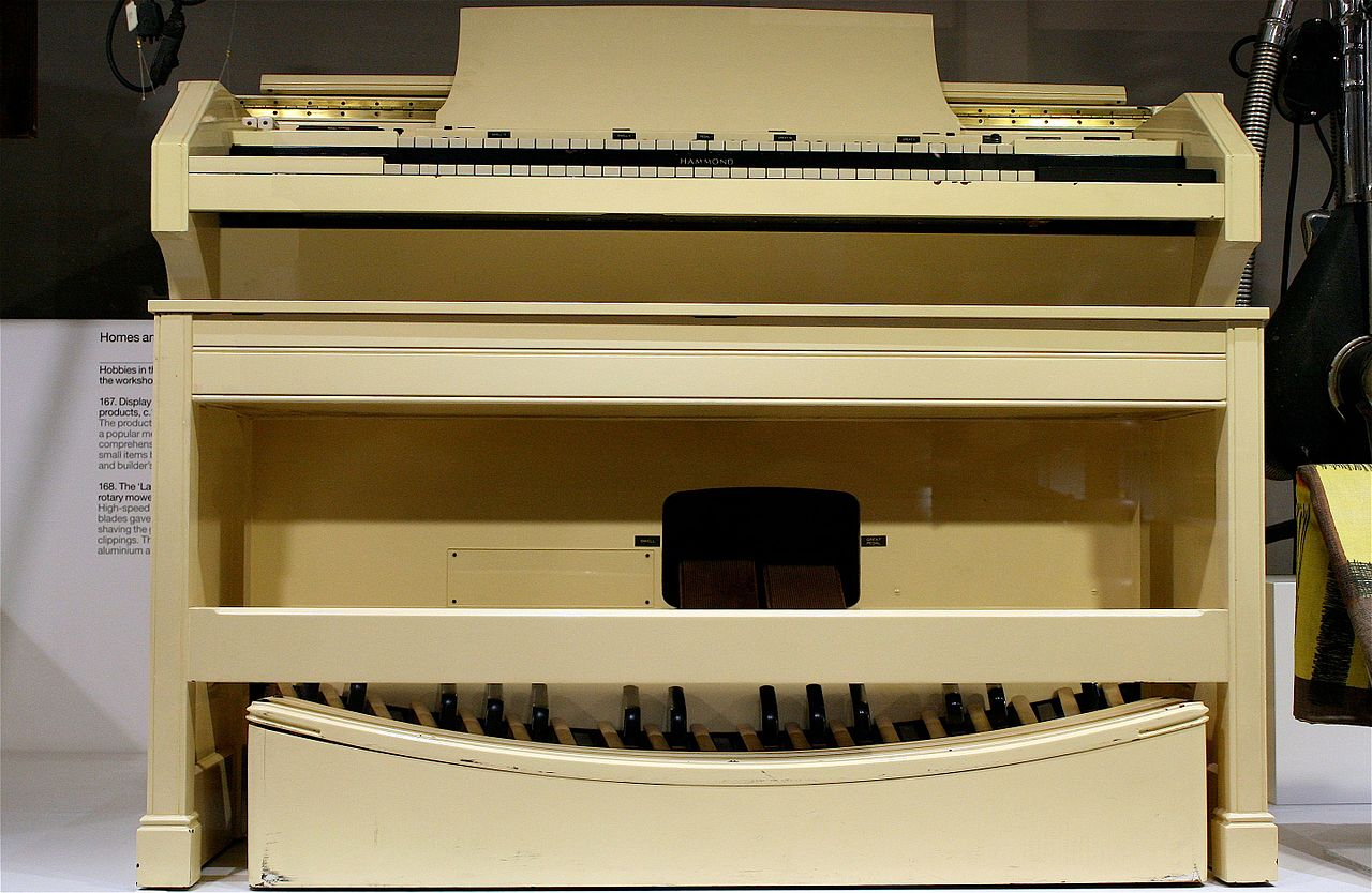 Organ For Sale >> File:Hammond Concert model E Organ - Science Museum ...