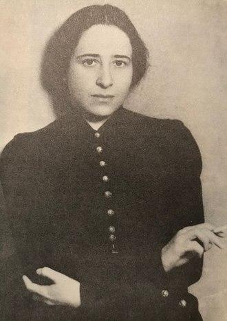 Hannah Arendt - Hannah 1933