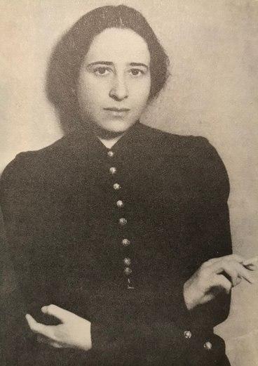 Hannah Arendt 1933