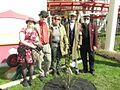 Hans Wallman tree planting 2016.jpg