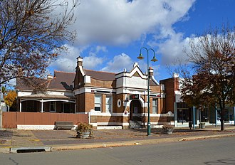 Harden, New South Wales - Image: Harden National Australia Bank 001