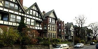 Harriswood Crescent - Image: Harriswood Crescent Boston MA 02