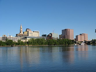 Hartford County, Connecticut - Image: Hartford Connecticut Skyline