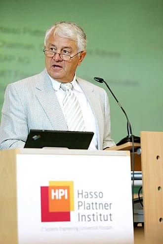 Hasso Plattner - Image: Hasso Plattner