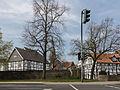 Hattingen, straatzicht met kerktoren en vakwerkhuizen foto7 2015-04-19 12.55.jpg