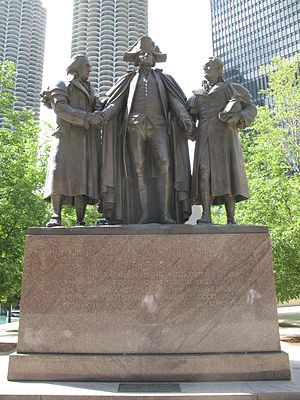 Heald Square Monument - View from Wacker Drive