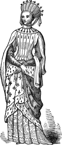 MARGARET, WIFE OF LOUIS, KING OF FRANCE, A.D. 1234.