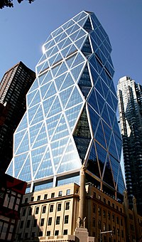 The Hearst Tower in New York City.
