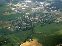 Aerial photograph of Hebron