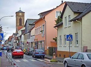 Heddernheim - Typical street