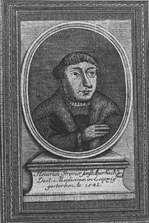 Heinrich Stromer physician of the German Renaissance