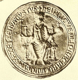 Henry Raspe, Landgrave of Thuringia - Seal of Henry as king