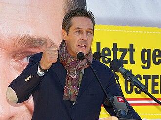 Heinz-Christian Strache - Heinz-Christian Strache in 2008.