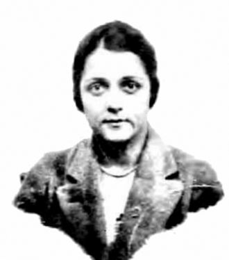 Gun moll - Helen Julia Godman - Passport photo taken in 1919