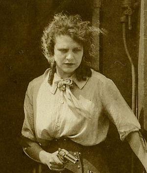 Helen Gibson - Gibson circa 1920