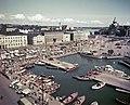 Helsinki 1952, Kauppatori. Eteläsatama. Kolera-allas - XLVIII-248 - hkm.HKMS000005-km0000mrc8.jpg