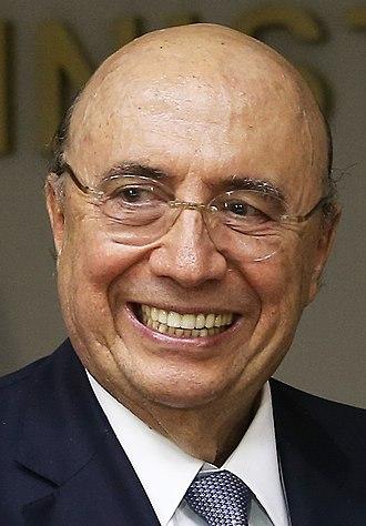 Henrique Meirelles - Image: Henrique Meirelles recebe o ministro das Finanças do Reino Unido 35459912404 (cropped)