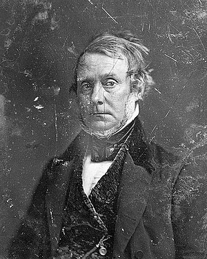Henry Grinnell - Image: Henry Grinnell, head and shoulders portrait, three quarters to the left