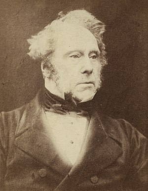 Henry John Temple, 3rd Viscount Palmerston - Lord Palmerston c. 1857