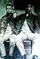 Henry Robinson and John Jackson. The two survivors from the crew of the Eliza Fernley, Southport Lifeboat. Pictured circa 1890.jpg