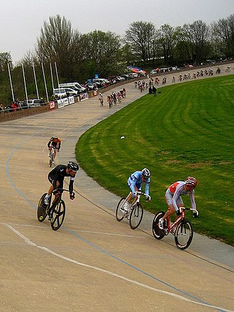 Bradley Wiggins - Wiggins began track cycling at the age of 12, at Herne Hill Velodrome, pictured in 2009.