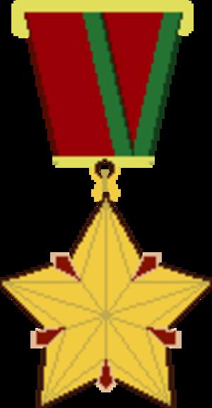 Hero of Belarus - 1996–1999 medal