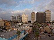 High-rises west of Broadway in Corpus Christi