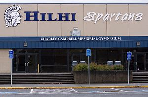 Hillsboro High School (Oregon) - Image: Hilhi Gym Hillsboro, Oregon
