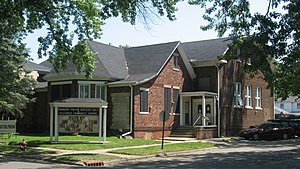 National Register of Historic Places listings in Vermillion County, Indiana - Image: Hill Crest Community Center