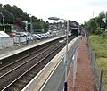 Hillfoot Station, Bearsden. View looking towards Bearsden Station, East Dunbartonshire, Scotland. (2).jpg