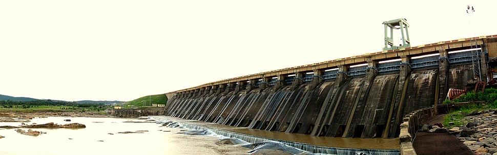 Hirakud Dam Panorama