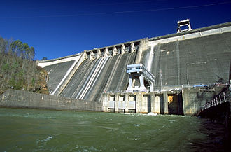 National Register of Historic Places listings in Cherokee County, North Carolina - Image: Hiwassee Dam