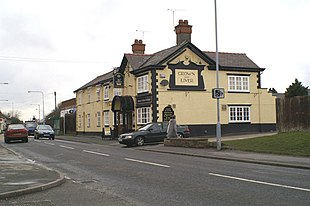 The <em>Crown and Liver</em> public house, Ewloe