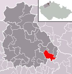 Location of Homole u Panny