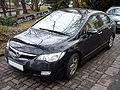 Honda Civic Hybrid black.JPG