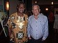 Honourable Derek Walcott with Sir Dunstan St Omer.jpg