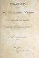 Horacianas - Horacio (trad. Bartolomé Mitre).pdf
