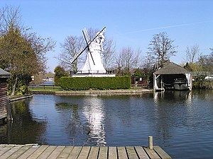 Horning - A mill in Horning