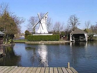 Horning - A mill in Horning