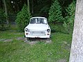 Hotel Cieszymir - Ruda 21 skansen starych samochodów to marki Trabant - panoramio.jpg