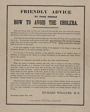 epidemiology of cholera