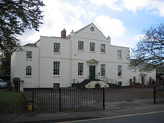 Hucclecote - Hucclecote Court, currently the offices of a local firm of solicitors