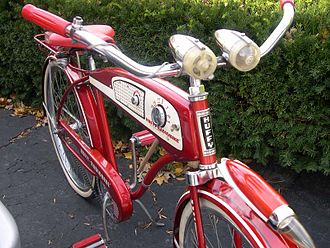 Cruiser bicycle - 50's Huffy Radio Bicycle
