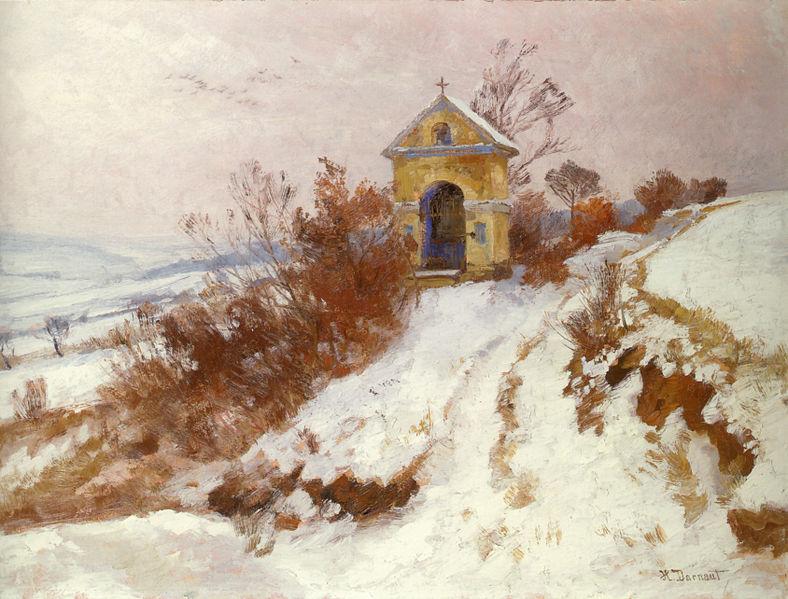 File:Hugo Darnaut Kapelle im Schnee.jpg