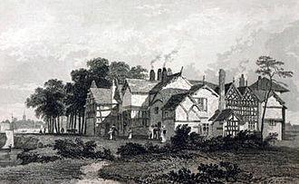 Hulme - Hulme Hall c.1830