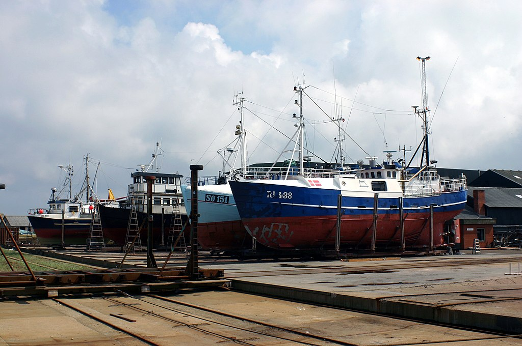 Hvide Sande, Denmark, Dockyard 00.JPG