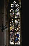 interieur, overzicht glas in loodraam, nummer 1 - schalkwijk - 20264815 - rce
