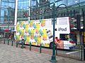 IPod bus in Old Square, Birmingham (8225218510).jpg