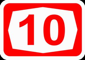 Highway 10 (Israel) - Image: ISR HW10
