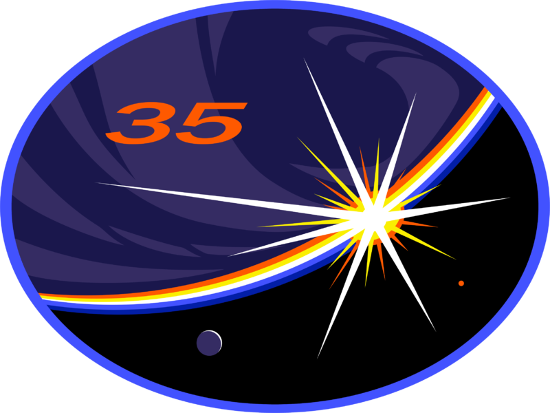 https://upload.wikimedia.org/wikipedia/commons/thumb/b/b1/ISS_Expedition_35_Patch.png/800px-ISS_Expedition_35_Patch.png